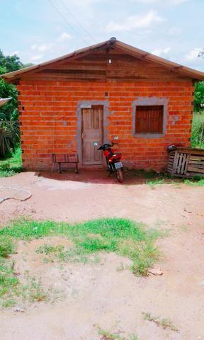 Vendo esta casa em fase de construçao localizada no bairro brasil novo