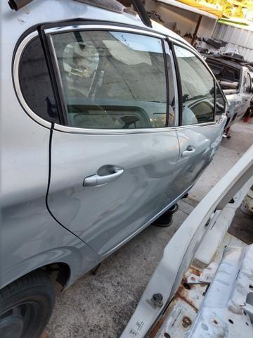 Porta traseira direita Peugeot 208 Prata Original