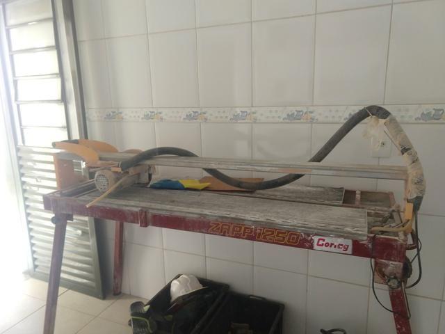 9f96ed2a5 Cortador de piso elétrico zapp 1250 - Materiais de construção e ...