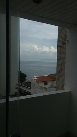 Apt.1.4.Barra, Ar, Vista Mar Maravilhosa,Mobilhado.Excelente Localização