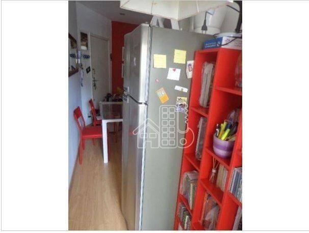 Apartamento com 1 dormitório à venda, 50 m² por R$ 302.100,00 - Icaraí - Niterói/RJ - Foto 14