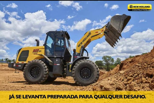 Pá Carregadeira New Holland 12 D Evo Peso Operacional: 10300kg 2021 - Foto 2