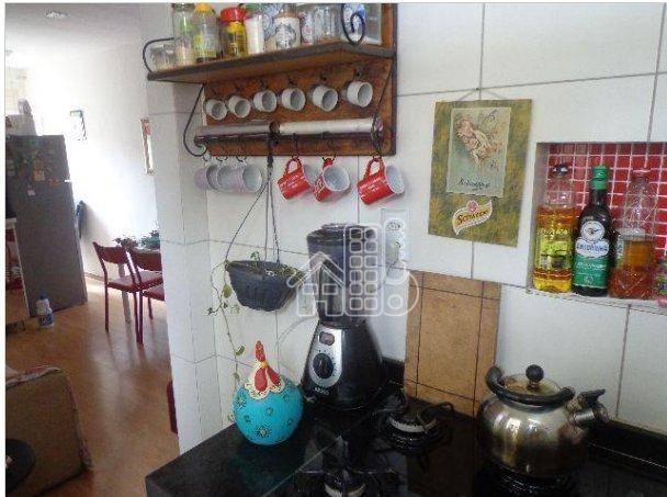 Apartamento com 1 dormitório à venda, 50 m² por R$ 302.100,00 - Icaraí - Niterói/RJ - Foto 6