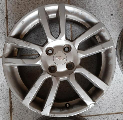 Jogo de rodas aro 16 Chevrolet Sonic 4x100 - Originais - Foto 5