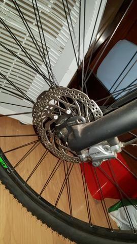 """Bicicleta Sense Impact Pro 29"""" + Sapatilha + Transbike - Foto 6"""