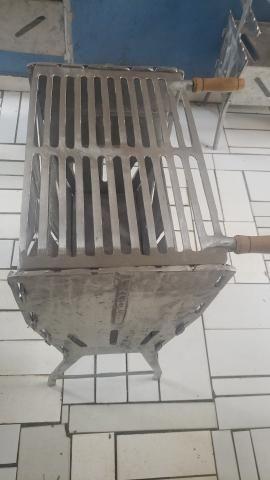 Churrasqueiras alumínio fundido - Foto 2