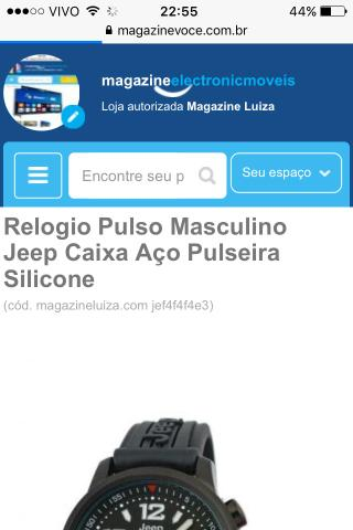 b03303180ed Relogio Pulso Jeep vários modelos consulte! - Bijouterias