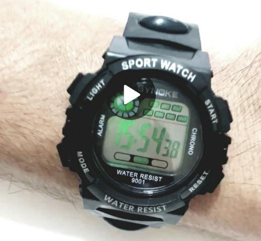 8fdd7f510f7 Relógio de pulso Esportivo Masc. de Led Moderno e Super Resistente- Promoção