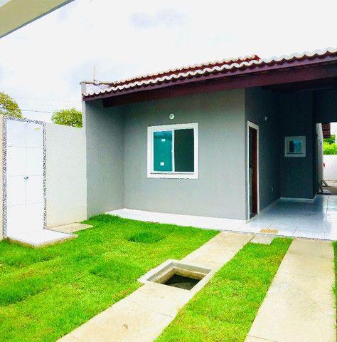 DP casa nova com 2 quartos 2 banheiros a 10 minutos de messejana - Foto 2