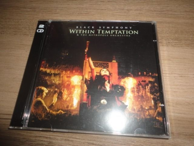 CD + DVD Within Temptation Black Symphony / Original Importado - Foto 4