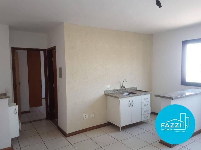 Flat com 1 dormitório para alugar por R$ 700,00/mês - Jardim Cascatinha - Poços de Caldas/ - Foto 5
