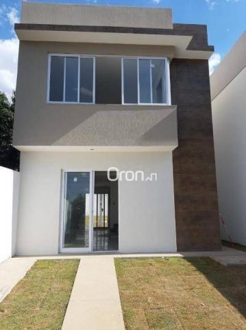 Sobrado com 3 dormitórios à venda, 101 m² por R$ 484.000,00 - Goiá - Goiânia/GO