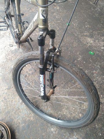 Bicicleta aro26 quadro edição limitada leia anúncio - Foto 2