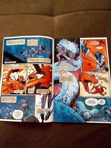 """Revistas em quadrinhos (HQs) do """"Conan, o bárbaro"""" - Foto 5"""
