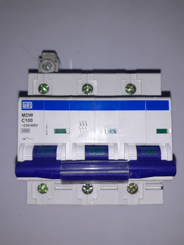 Disjuntor tripolar 100A - Foto 4