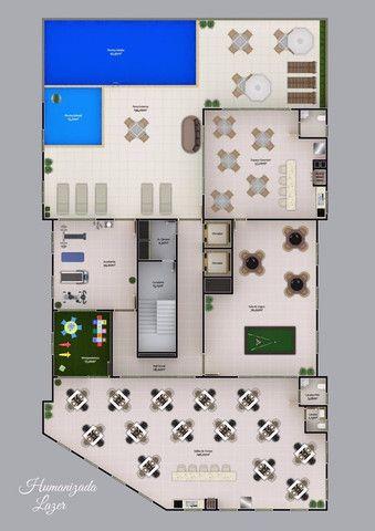 Apartamento em Itapema com 02 dorms, sendo 01 suíte à 300m mar, Parcelado!!! Morretes - Foto 3