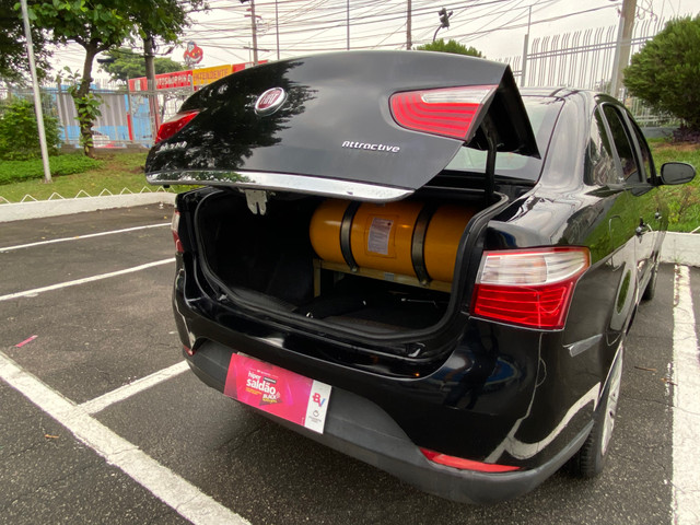 Fiat Grand Siena 1.4 8V (Flex) COM GNV O MENOR PREÇO VERDADEIRO - Foto 3