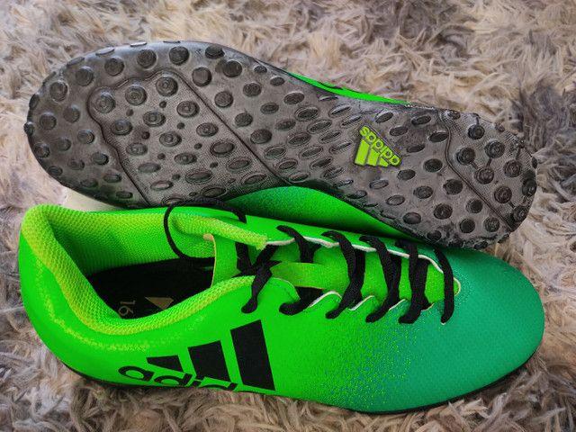 Chuteiras society Adidas/Nike - Foto 2