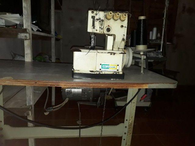Máquina de costura industrial Bracob BC26003 branca<br><br> - Foto 2