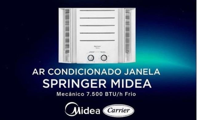 AR CONDICIONADO SPRINGER LACRADO 10000 Btus 110 volts - Foto 3