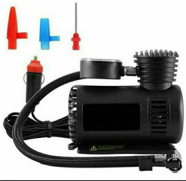 Compressor De Ar Automotivo Portátil Knup 250 Psi 12v Pneus