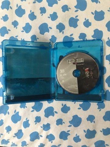 Blu-ray 3D Piratas do Caribe 4 Navegando em água misteriosas R$20,00 - Foto 3