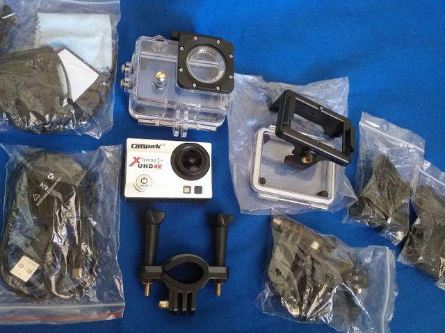 Câmera campark 4k - Foto 2