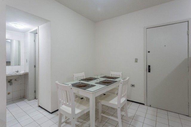 Flat 207 com 1 quarto completíssimo em Boa Viagem - Recife - PE - Foto 4