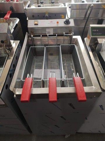 Fritadeira agua e óleo progas 3 cestos *douglas