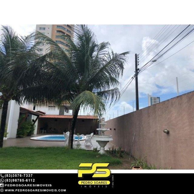 Casa com 5 dormitórios para alugar, 1.120 m² por R$ 16.000/mês - Estados - João Pessoa/PB - Foto 17