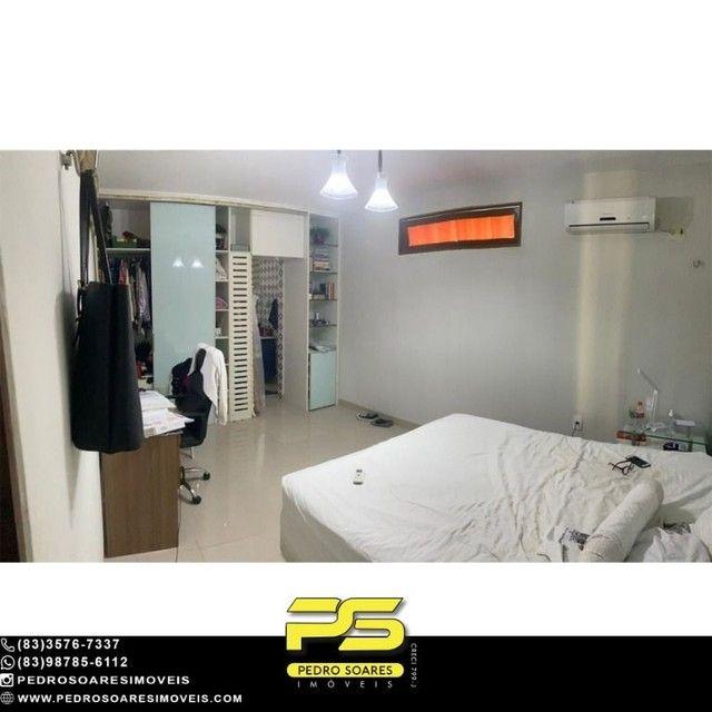 Casa com 5 dormitórios para alugar, 1.120 m² por R$ 16.000/mês - Estados - João Pessoa/PB - Foto 20