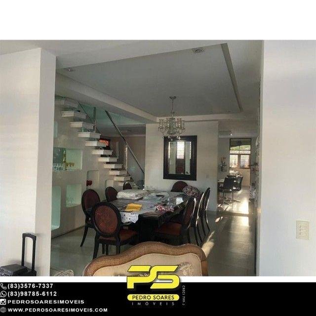 Casa com 5 dormitórios para alugar, 1.120 m² por R$ 16.000/mês - Estados - João Pessoa/PB - Foto 4