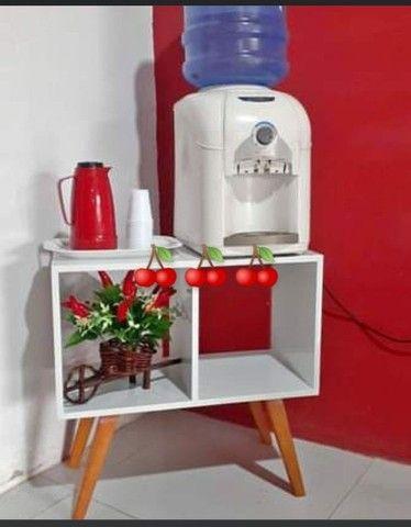 Móvel para gelagua ou cantinho do café 65x65 estilo retrô SOB ENCOMENDA - Foto 2
