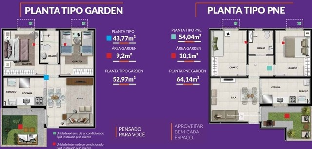 Excelente investimento apto 2 quartos Jardim Unique. Ótimo negócio - Foto 3