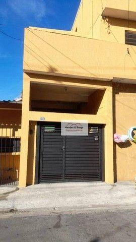 Sobrado com 4 dormitórios para alugar, 160 m² por R$ 2.500,00/mês - Cocaia - Guarulhos/SP - Foto 13