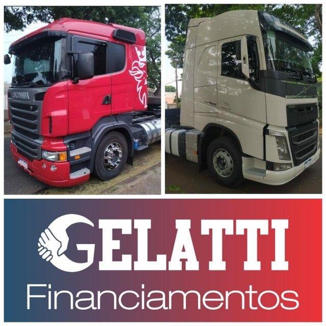 Scania g380 g420 volvo fh 440 460 mb iveco man carretas graneleiro cacamba - Foto 4