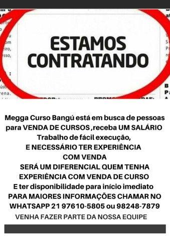 VAGA PARA VENDEDOR DE CURSO