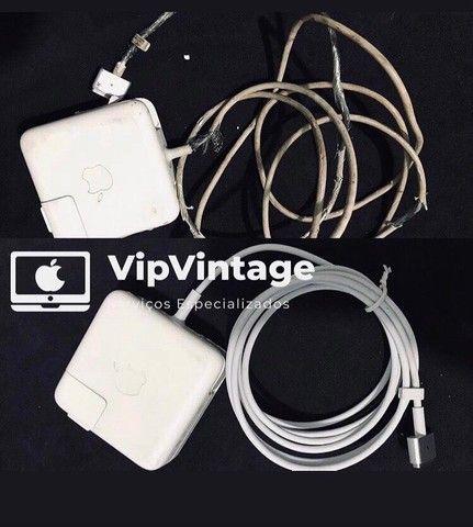 Reparo carregador/ fonte de MacBook (Apple)