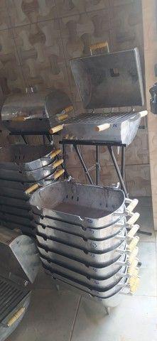 Churrasqueira de alumínio - Foto 5