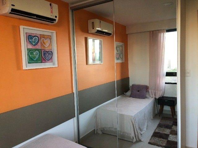 Rio Ariaú-84m²- 3 qtos s/ 1 suíte + escritório- andar intermediário-Mobiliado- Miramar - Foto 8