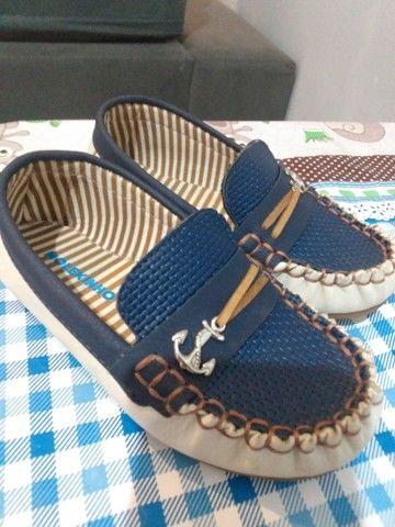 Sapato infantil molequinho + sapato bloompy. tamanho 25 ambos sem marca de uso  - Foto 2