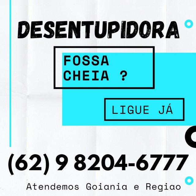 >>>LIMPA FOSSA<<<