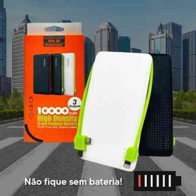 Carregador portátil Power Bank Universal - Foto 4