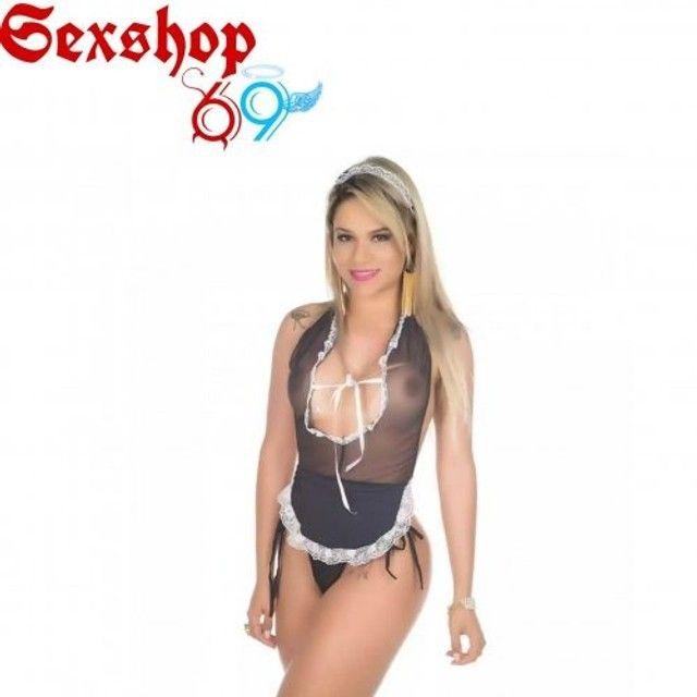 Fantasia copeira S.e.x.y(Entrega Grátis + brinde) (Promoção) - Foto 2
