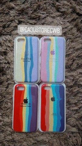 Capinha IPhone várias cores - Foto 3