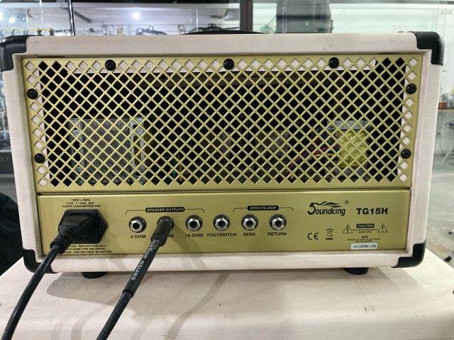 Amplificador valvulado para guitarra soundking semi-novo  - Foto 4