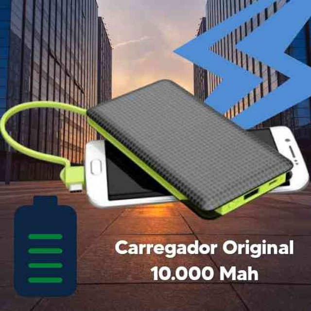Carregador portátil Power Bank Universal - Foto 3