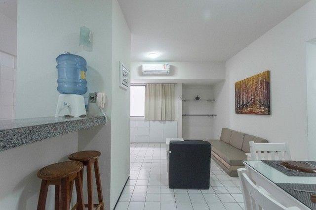 Flat 207 com 1 quarto completíssimo em Boa Viagem - Recife - PE - Foto 3
