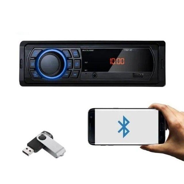 Som automotivo Bluetooth + pen drive  - Foto 2