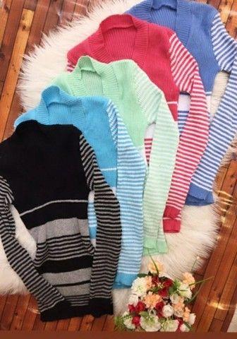 Casaco tricô e blusas - Foto 2
